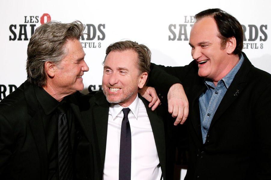Kurt Russell, Tim Roth et Quentin Tarantino