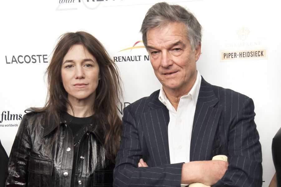 Charlotte Gainsbourg et Benoît Jacquot à la première aux USA de «Trois cœurs» à New York, le 6 mars 2015