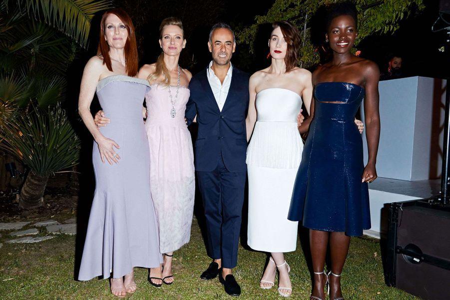 Lupita Nyong'o, Naomi Watts, Julianne Moore, Rooney Mara et Francisco Costa