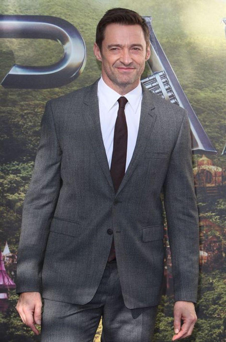 Hugh Jackman à Londres le 20 septembre 2015