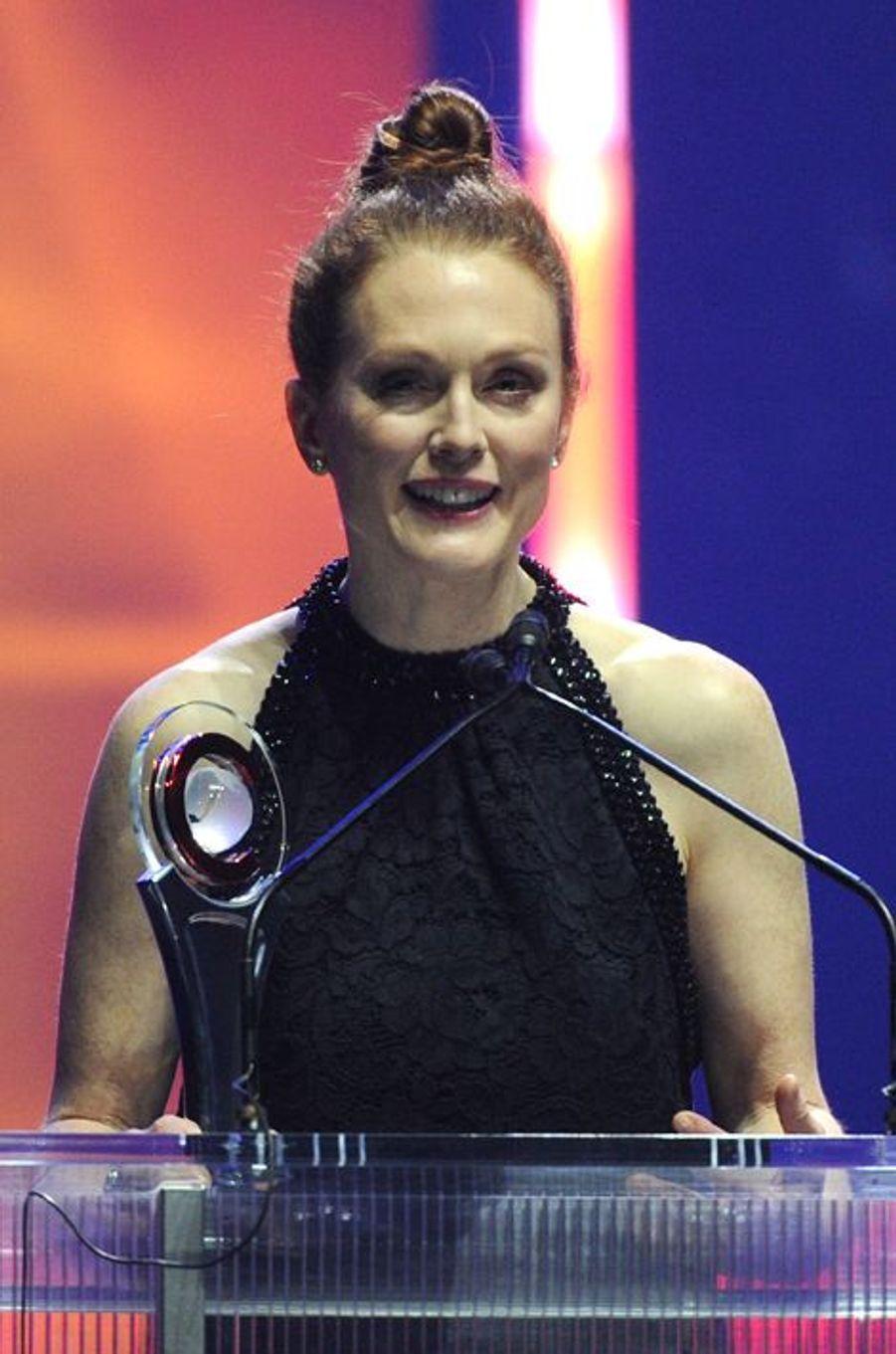 Julianne Moore à Las Vegas le 23 avril 2015