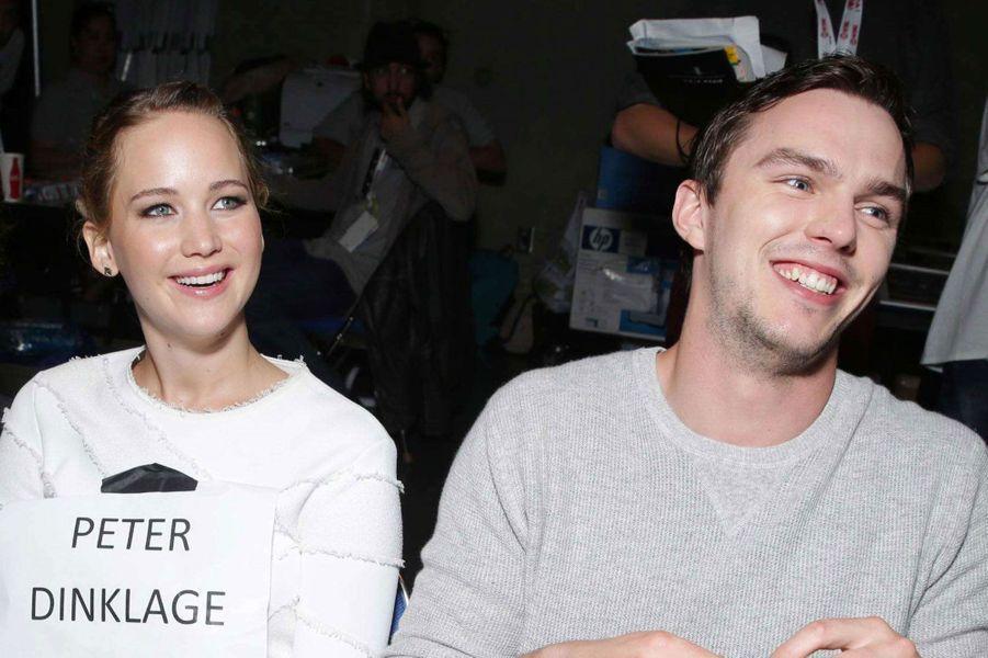 Jennifer Lawrence (Hunger Games) et Nicholas Hoult (X-Men)