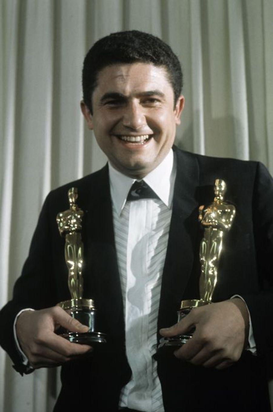 Claude Lelouch à la cérémonie des Oscars en 1967