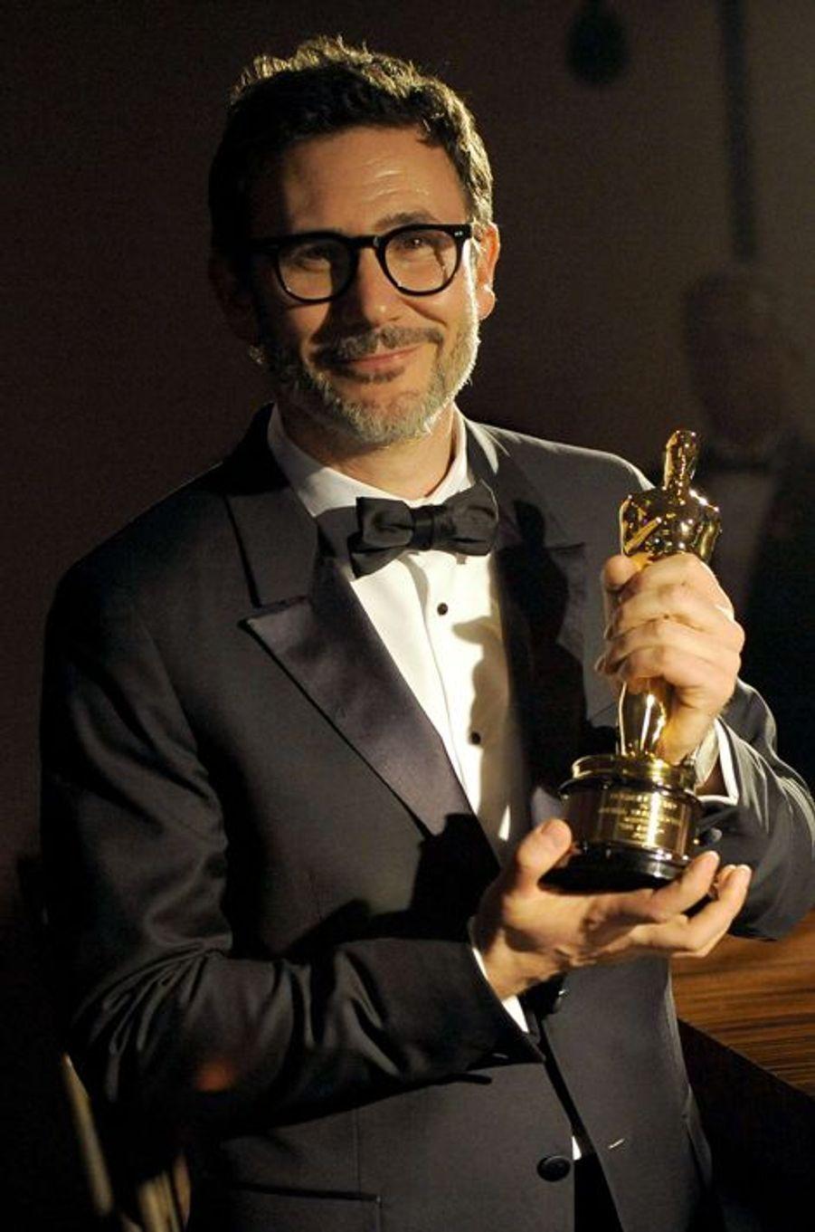 Michel Hazanavicius à la cérémonie des Oscars 2014