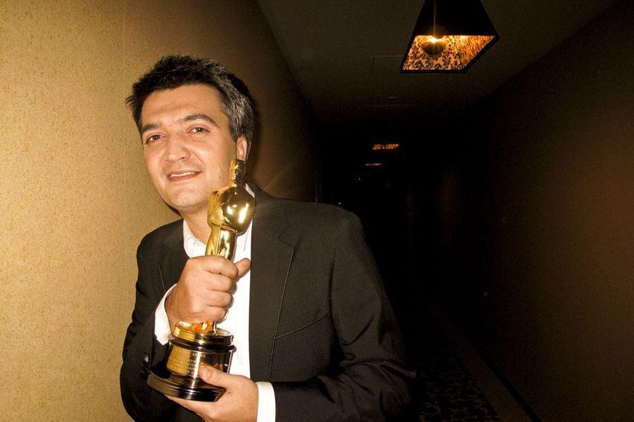 """Thomas Langmann, producteur heureux de """"The Artist"""" remporte 5 Oscars en 2012"""