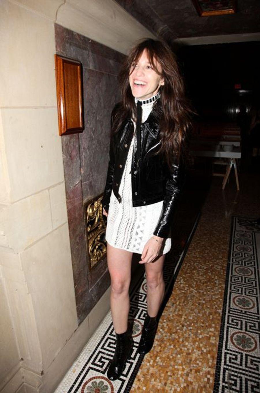 Charlotte Gainsbourg à New York le 4 novembre 2014