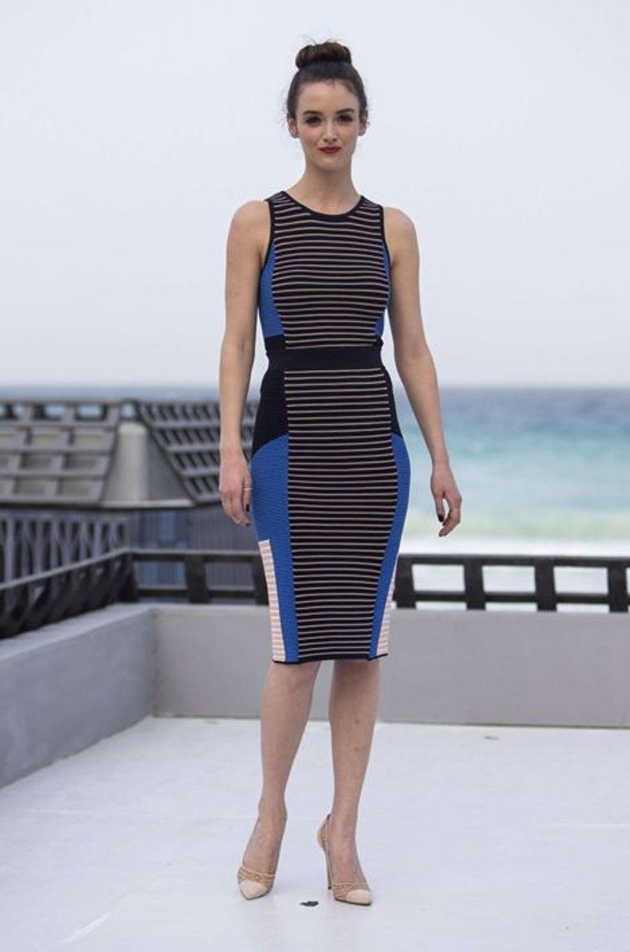 Charlotte Le Bon à Cancun le 15 juin 2015