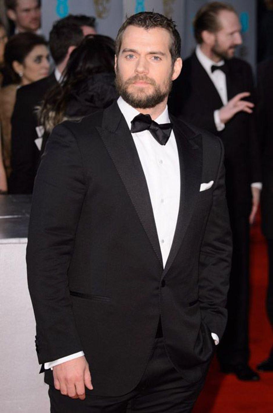 Henry Cavill aux BAFTA en février 2015