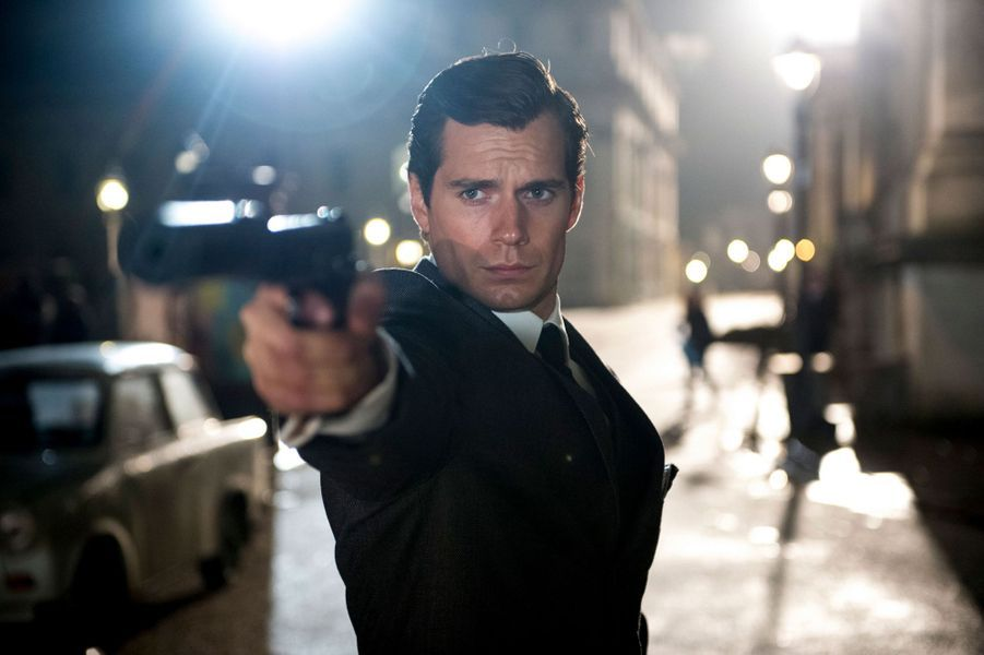 "Henry Cavill dans ""The Man From U.N.C.L.E"""