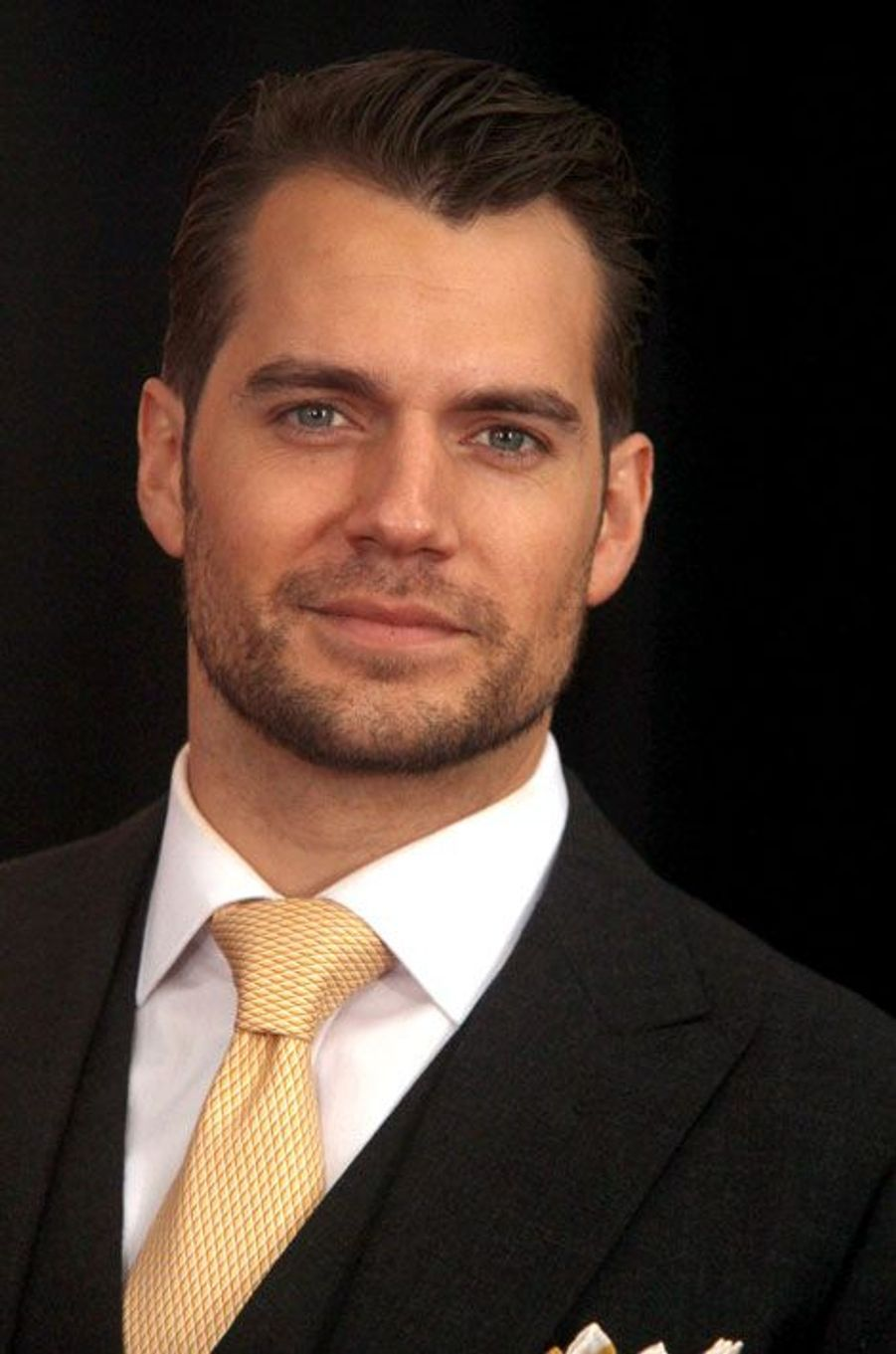"Henry Cavill en promotion pour ""The Man From U.N.C.L.E"""