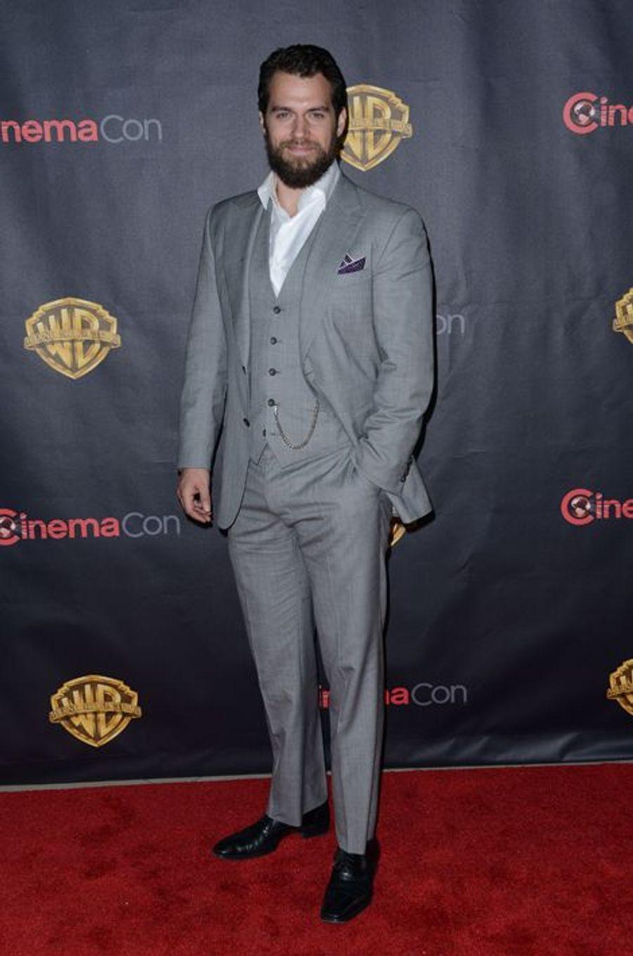 "Henry Cavill en promotion pour ""The Man From U.N.C.L.E"""