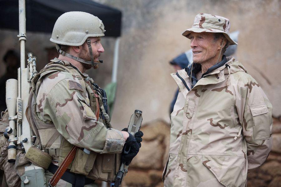 """1 - """"American Sniper"""", avec Bradley Cooper. Sorti en 2014, le film a récolté 543 millions de dollars au box-office mondial"""