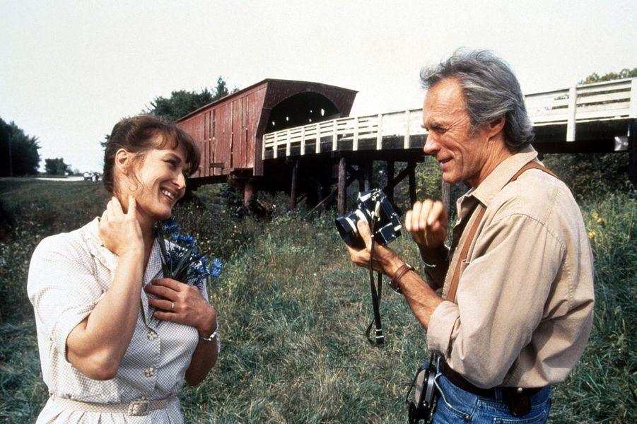 """4 - """"Sur la route de Madison"""", avec Meryl Streep. Sorti en 1995, le film a récolté 182 millions de dollars au box-office mondial"""