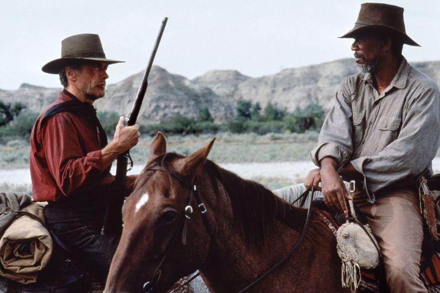 """5 - """"Impitoyable"""", avec Morgan Freeman. Sorti en 1992, le film a récolté 159 millions de dollars au box-office mondial"""