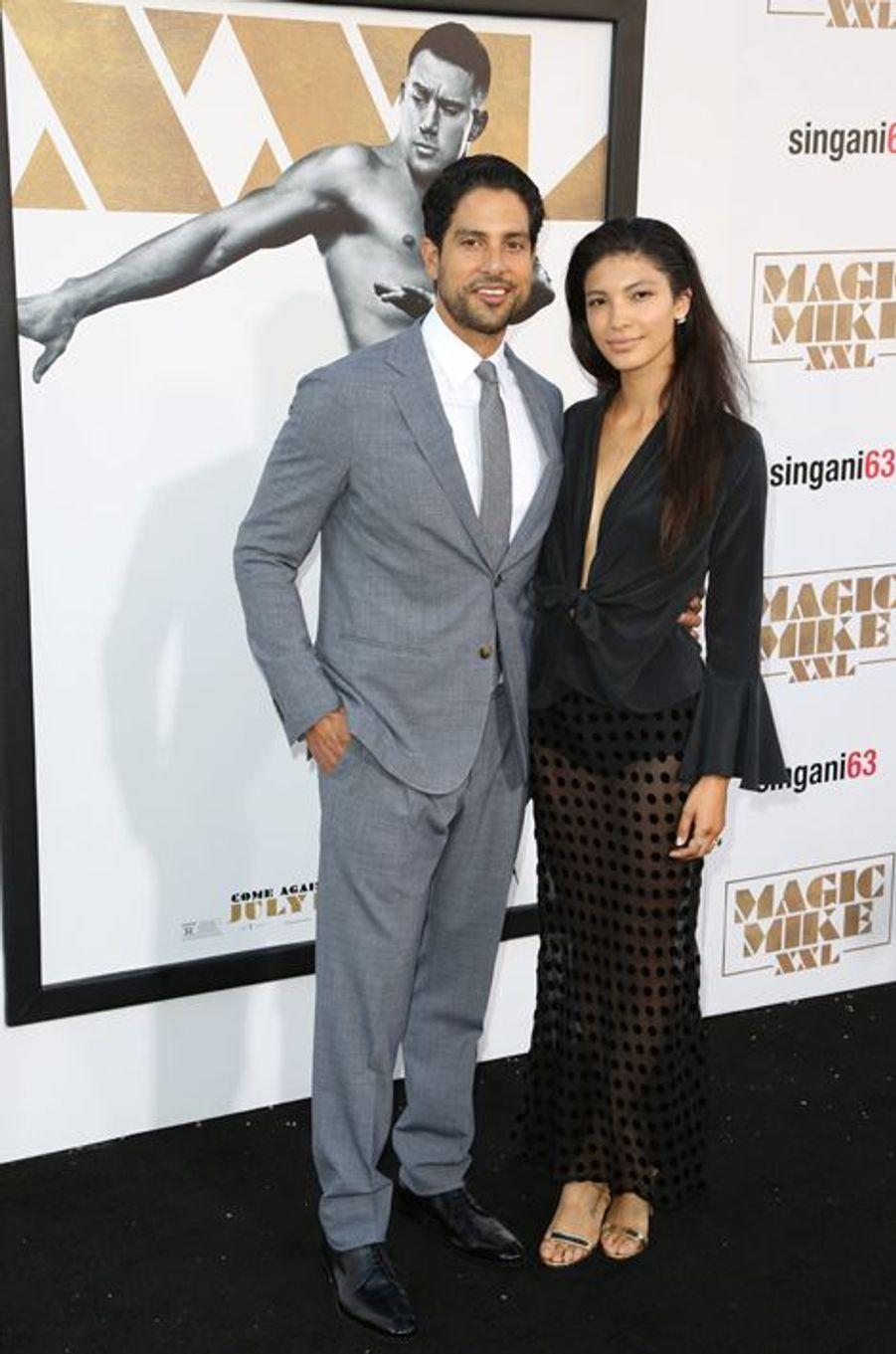 Adam Rodriguez et sa compagne