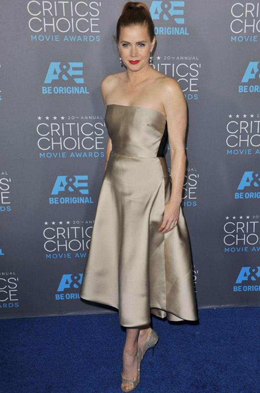 Amy Adams à Los Angeles le 15 janvier 2014