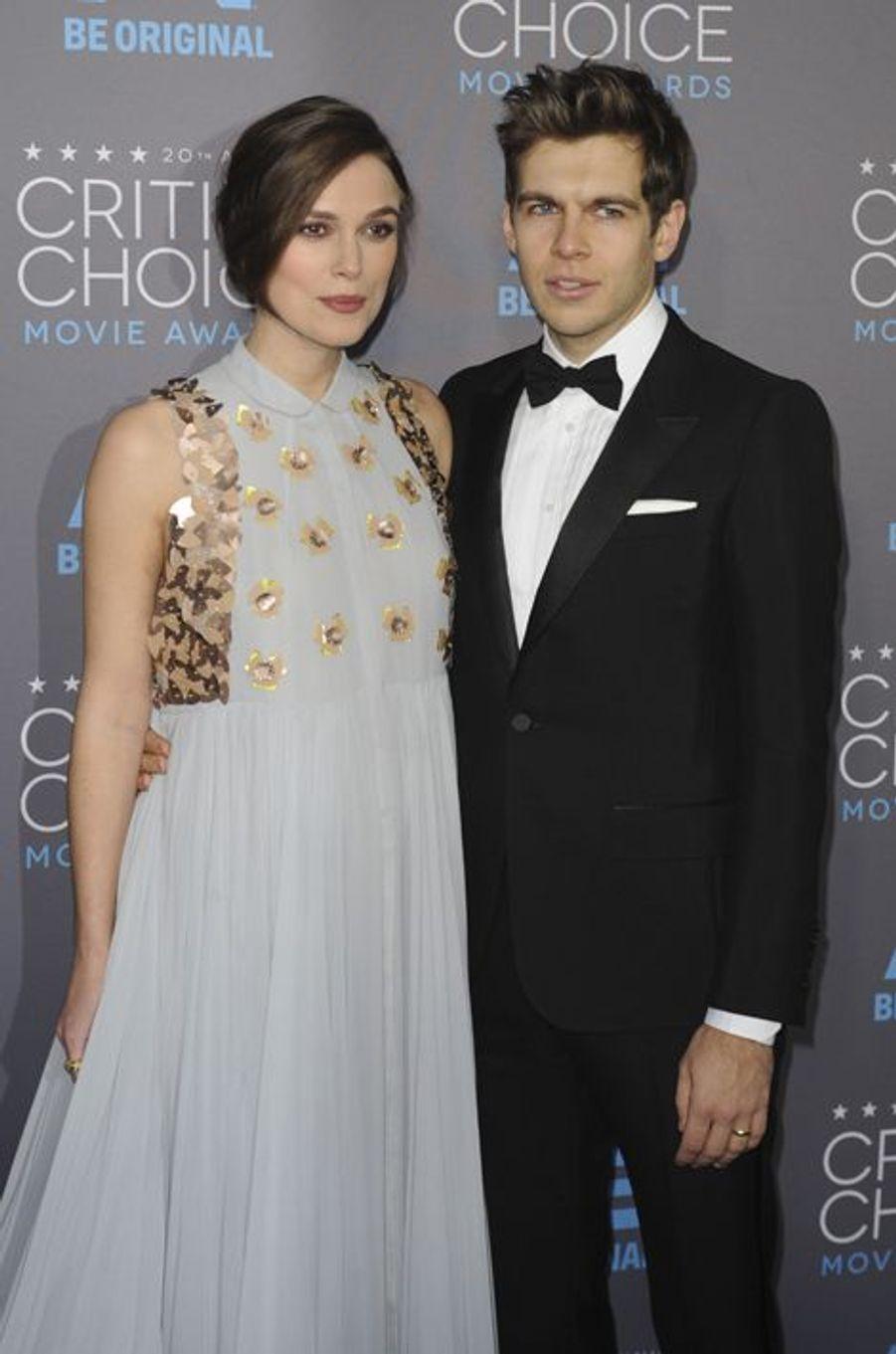 Keira Knightley et James Righton à Los Angeles le 15 janvier 2014
