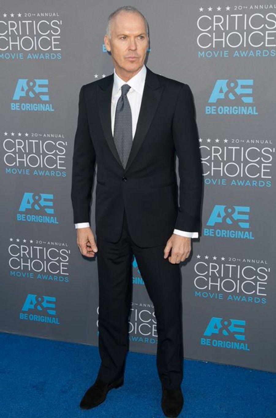 Michael Keaton à Los Angeles le 15 janvier 2014