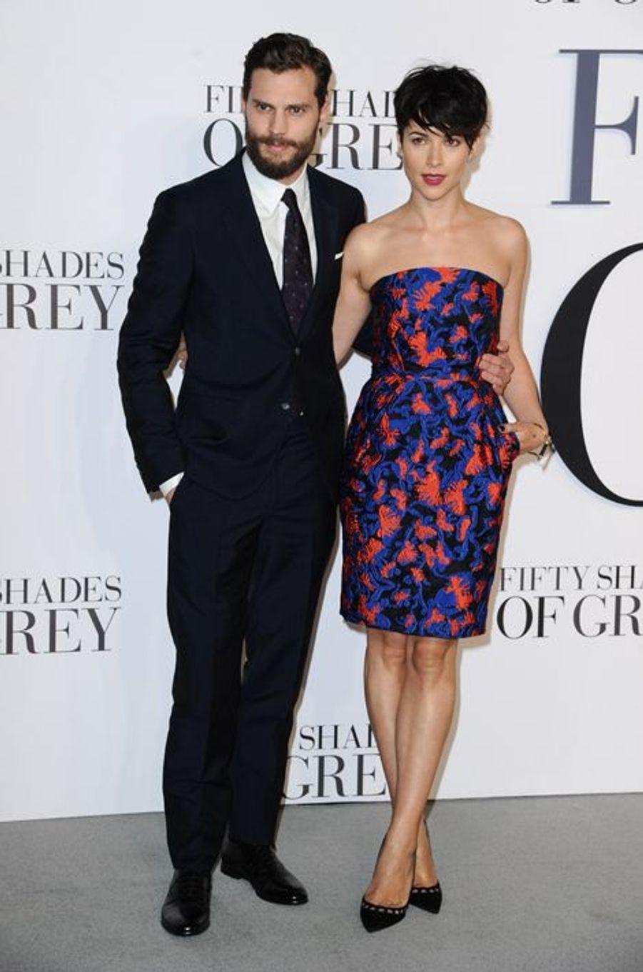Jamie Dornan et Amelia Warner à Londres le 12 février 2015