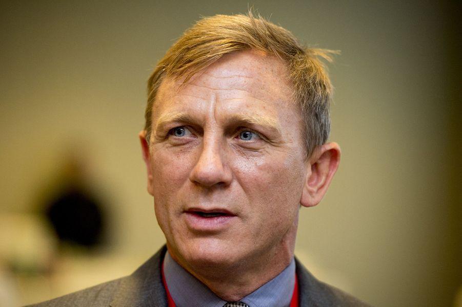 Daniel Craig à New York le 29 septembre 2015