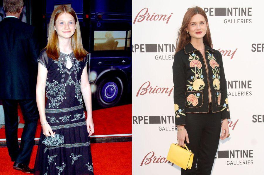 Petite sœur de Ron Wesley et future compagne d'Harry Potter, Bonnie Wright s'est glissée dans la peau de la jeune sorcière Ginny Weasley dès ses 10 ans. A 24 ans, elle poursuit sa formation à Londres pour devenir réalisatrice.