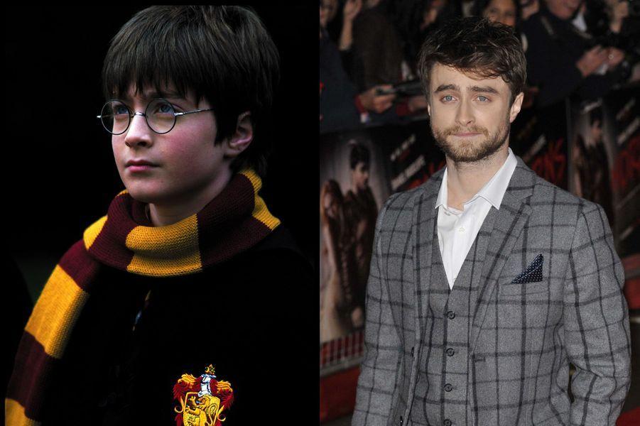 Héros de la saga, Daniel Radcliffe devient Harry Potter lorsqu'il a 11 ans. Pour beaucoup de fans, l'acteur est désormais indissociable de son personnage de sorcier, mais ce sera au théâtre qu'il se fera remarquer dans la pièce «Equus» en 2007, une performance largement saluée par la critique. Plus récemment, c'est de nouveau sur grand écran qu'il revient dans le film «Horns» en 2013. Il sera à l'affiche du prochain «Victor Frankenstein» à la rentrée 2015.