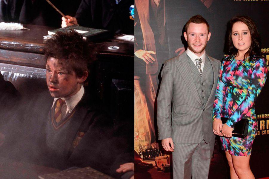 Sorcier de second rang et maladroit de la baguette, le personnage de Seamus Finnigan est malgré tout présent dans chaque volet de la saga aux côtés de son ami Harry Potter. Ce sera le seul rôle marquant de la carrière de Devon Murray, aujourd'hui âgé de 26 ans.
