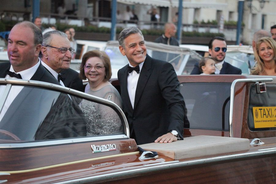 George Clooney et ses parents
