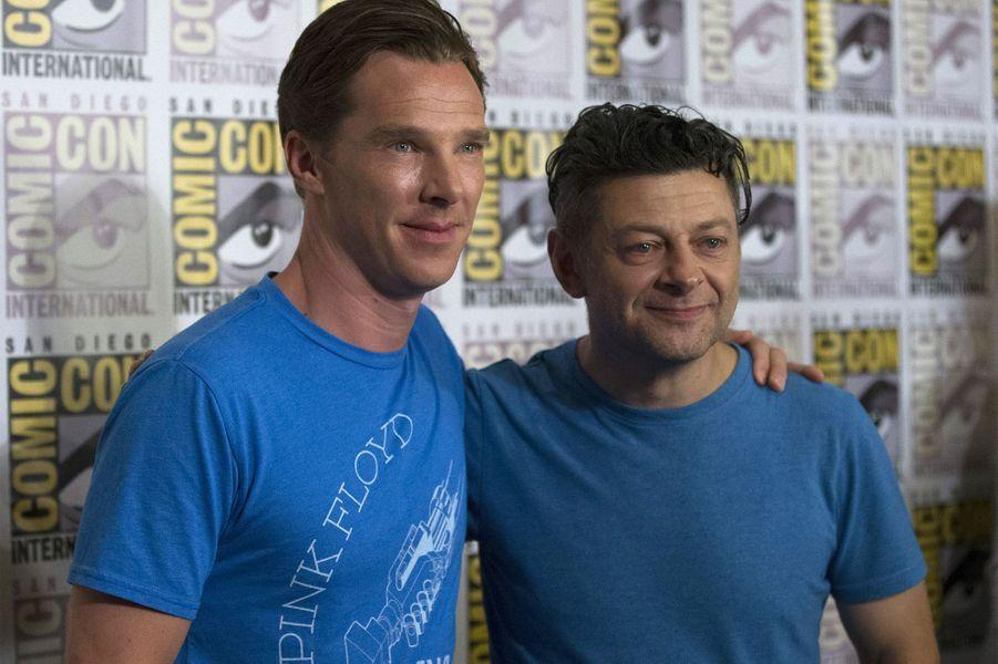 """Andy Serkis et Benedict Cumberbatch étaient aussi là pour """"The Hobbit"""""""