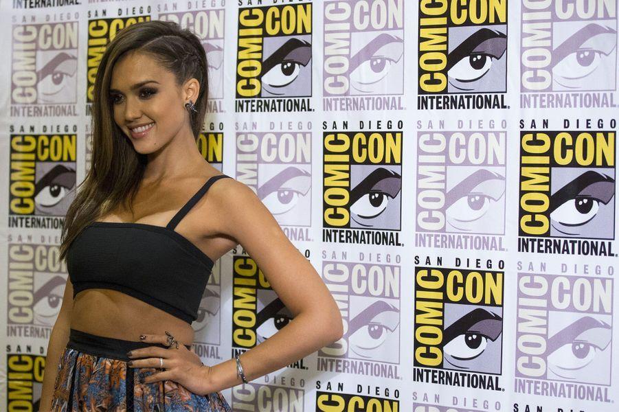 "Jessica Alba était là pour ""Sin City: A Dame to Kill For"""