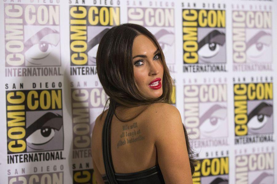 "Megan Fox, sexy pour ""Teenage Mutant Ninja Turtles"""