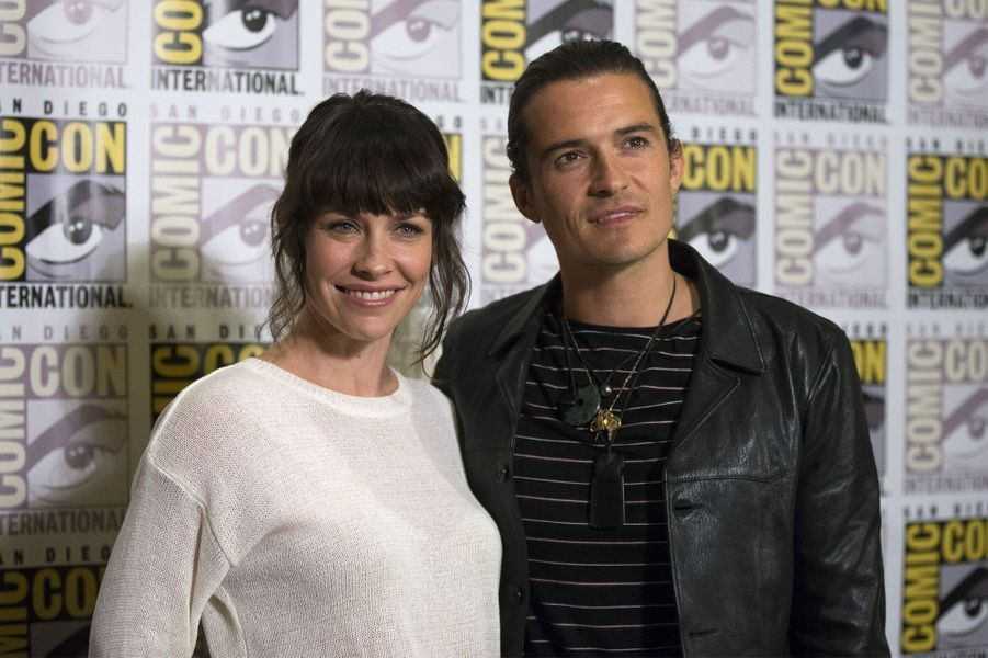 "Orlando Bloom et Evangeline Lilly présentaient The Hobbit: The Battle of the Five Armies"""