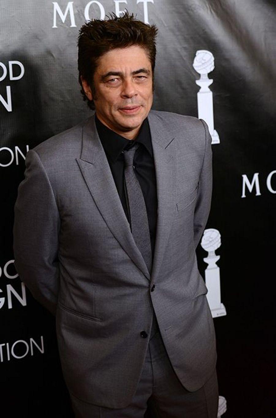 Benicio Del Toro à Los Angeles le 13 août 2015
