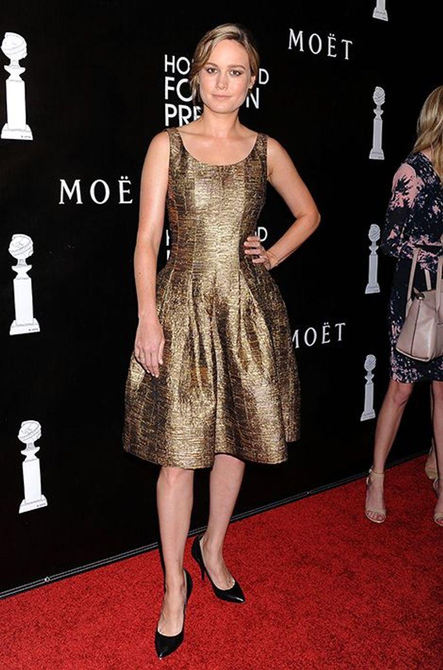 Brie Larson à Los Angeles le 13 août 2015
