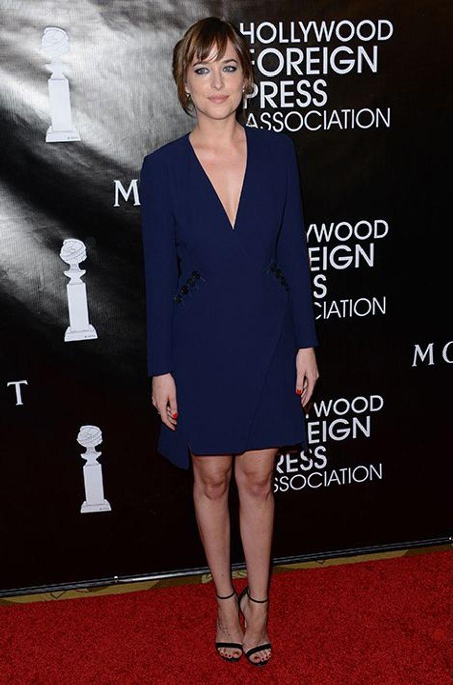 Dakota Johnson à Los Angeles le 13 août 2015
