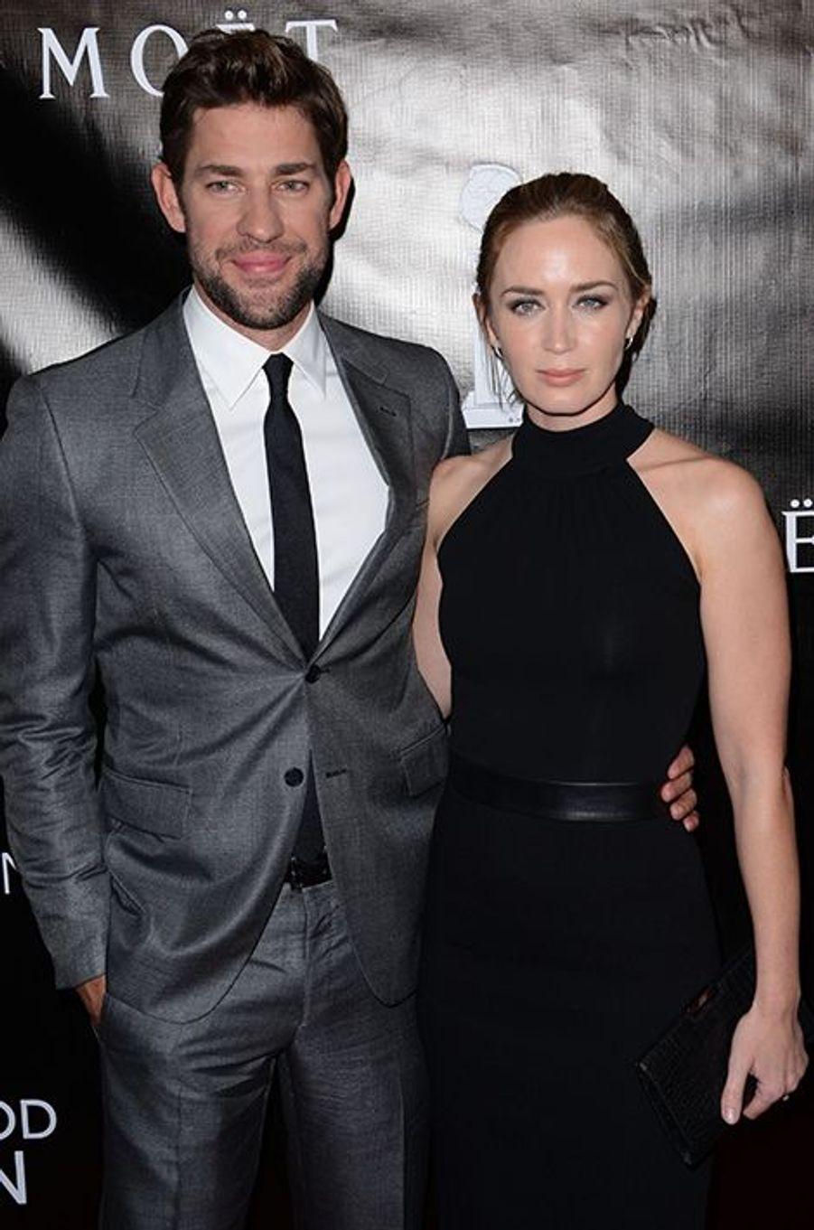 John Krasinski et Emily Blunt à Los Angeles le 13 août 2015