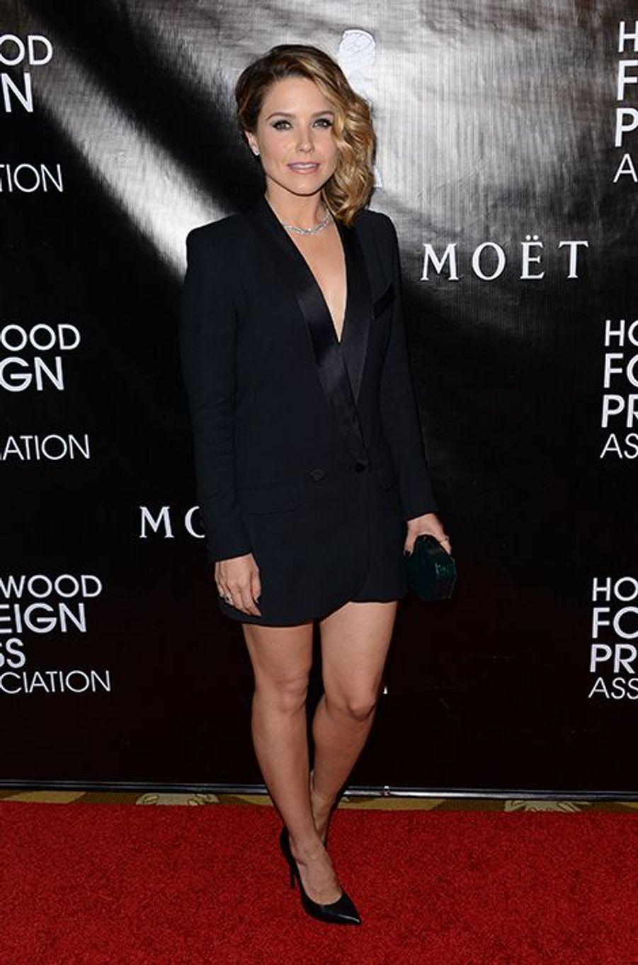 Sophia Bush à Los Angeles le 13 août 2015