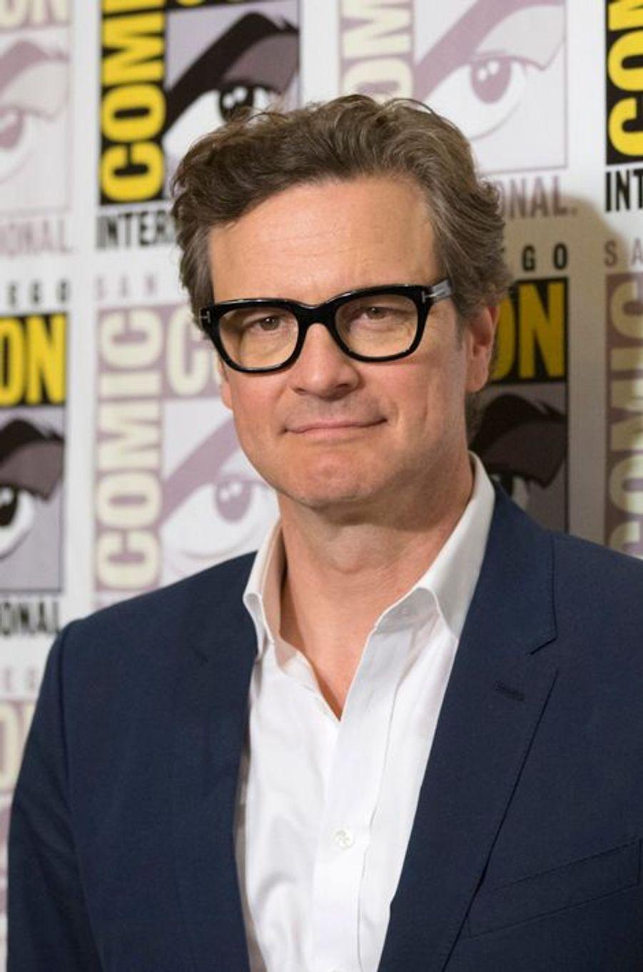 """Colin Firth que l'on retrouve prochainement sur grand écran dans """"Kingsman : Services secrets"""""""
