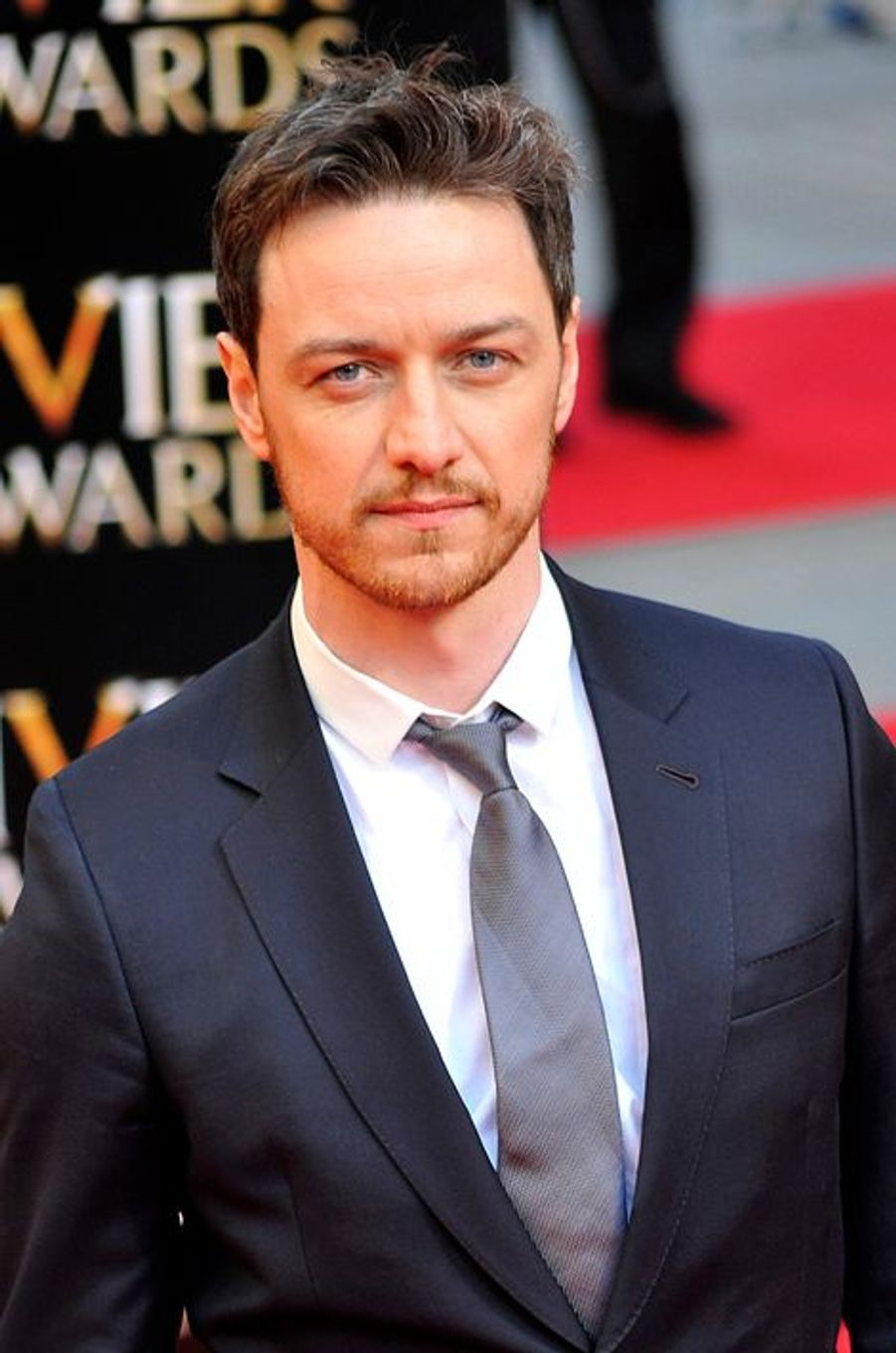 "James McAvoy, star de la saga ""X-Men"""