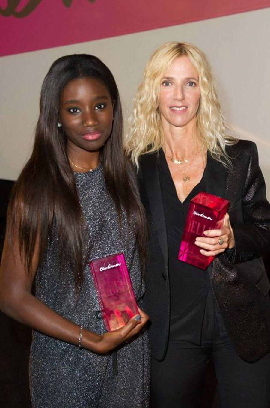 Karidja Touré et Sandrine Kiberlain