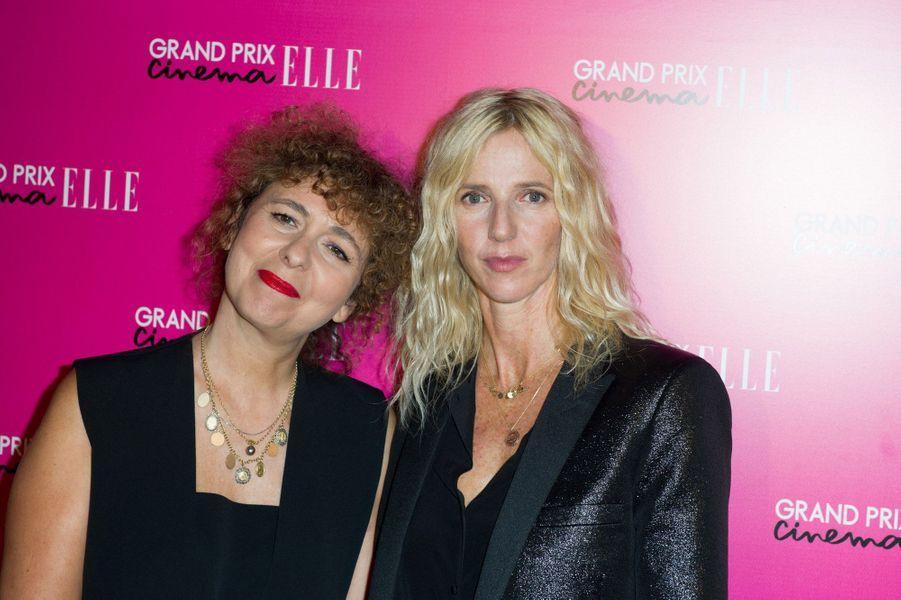 Valérie Toranian et Sandrine Kiberlain
