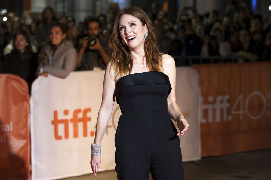 Julianne Moore à Toronto le 13 septembre 2015
