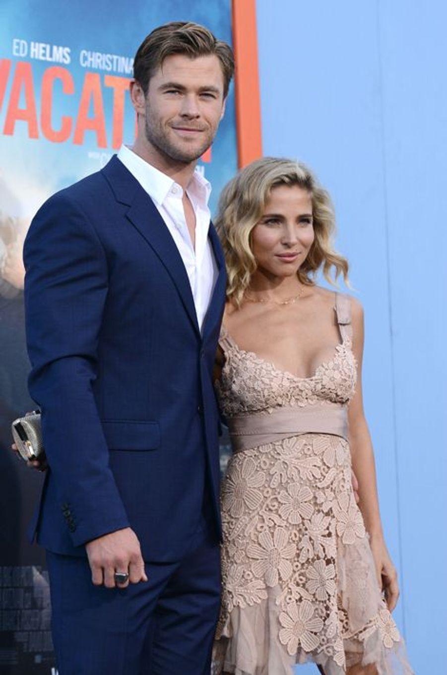 Chris Hemsworth et Elsa Pataky à Los Angeles le 27 février 2015