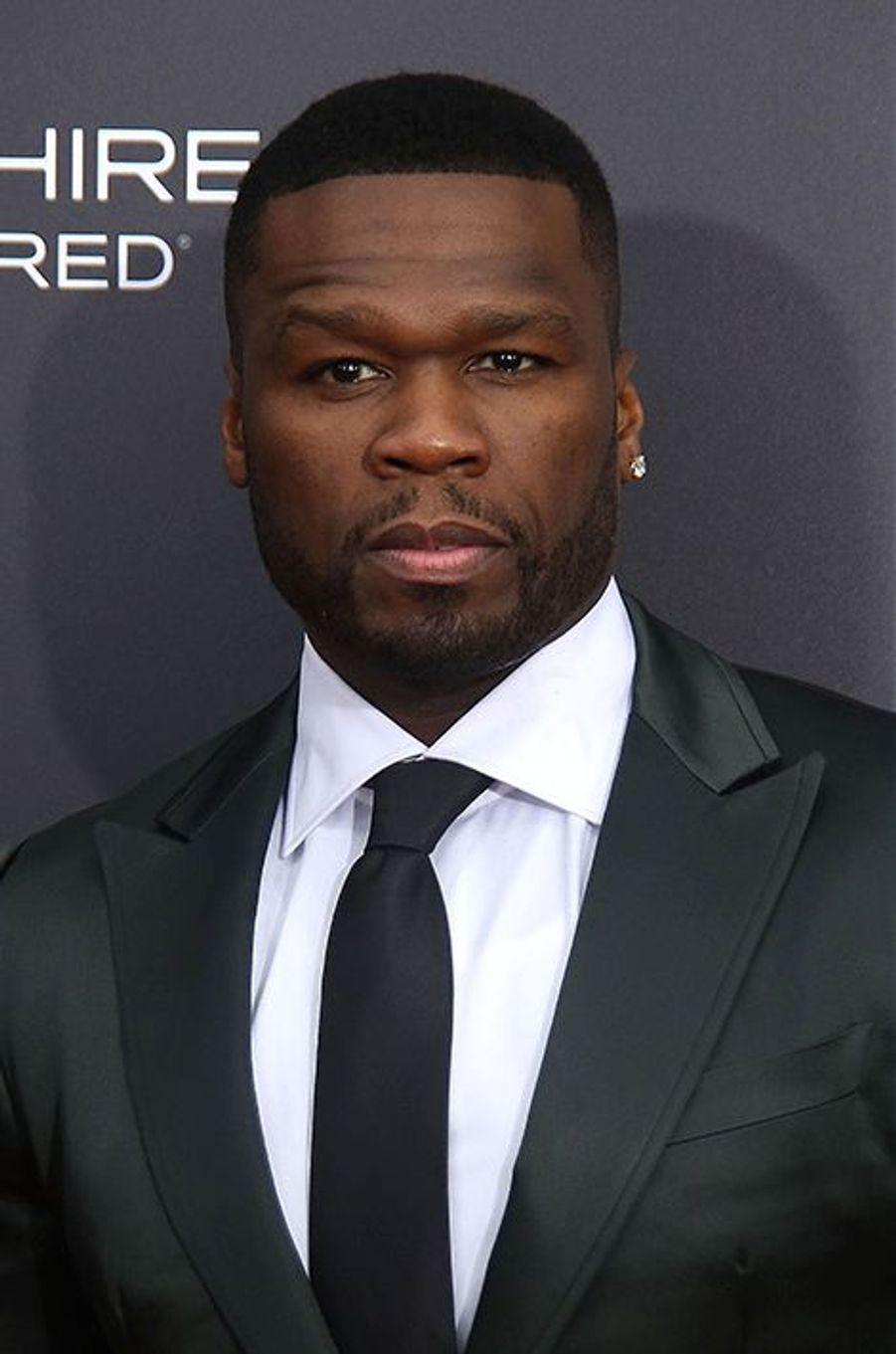 50 Cent à New York le 20 juillet 2015