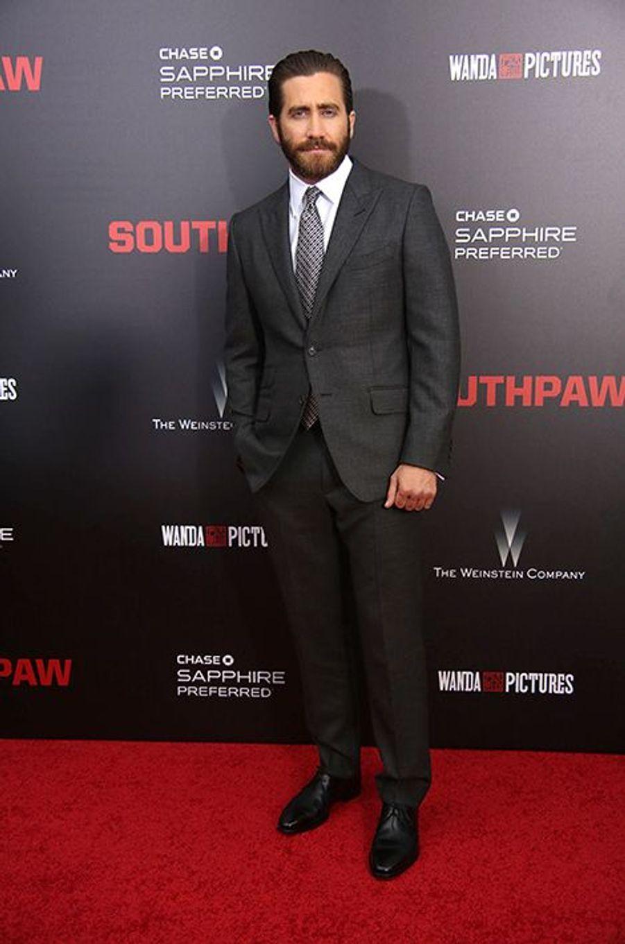 Jake Gyllenhaal à New York le 20 juillet 2015
