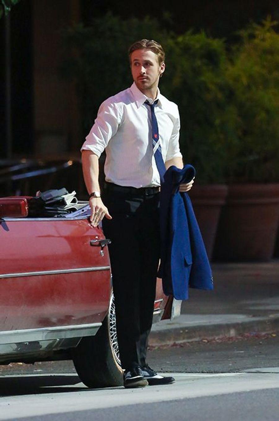 Ryan Gosling à Los Angeles le 18 août 2015