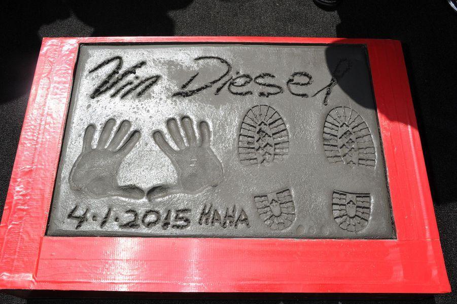 Vin Diesel à Los Angeles le 1er avril 2015