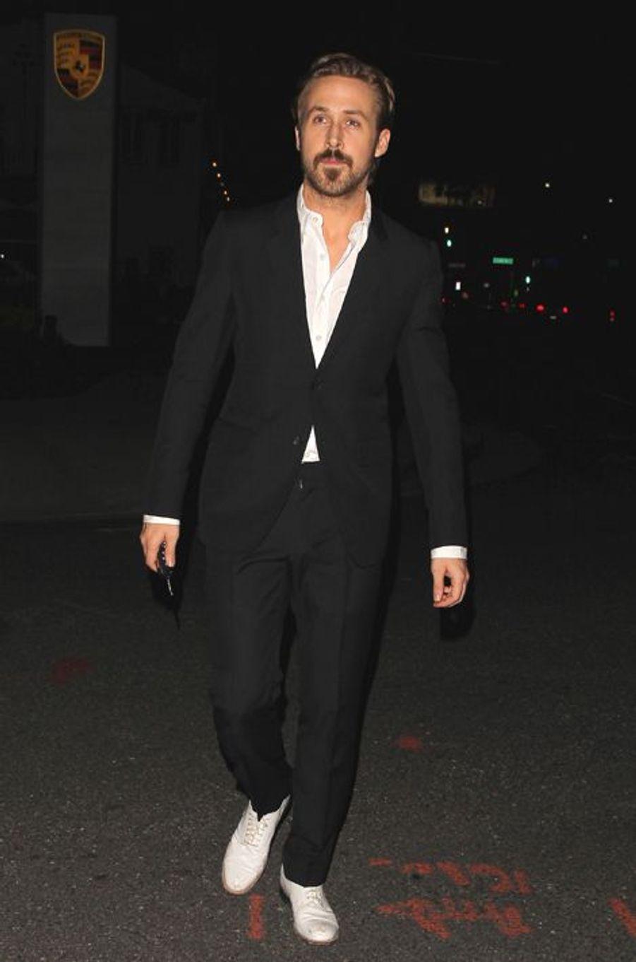 Ryan Gosling à Los Angeles le 17 janvier 2015