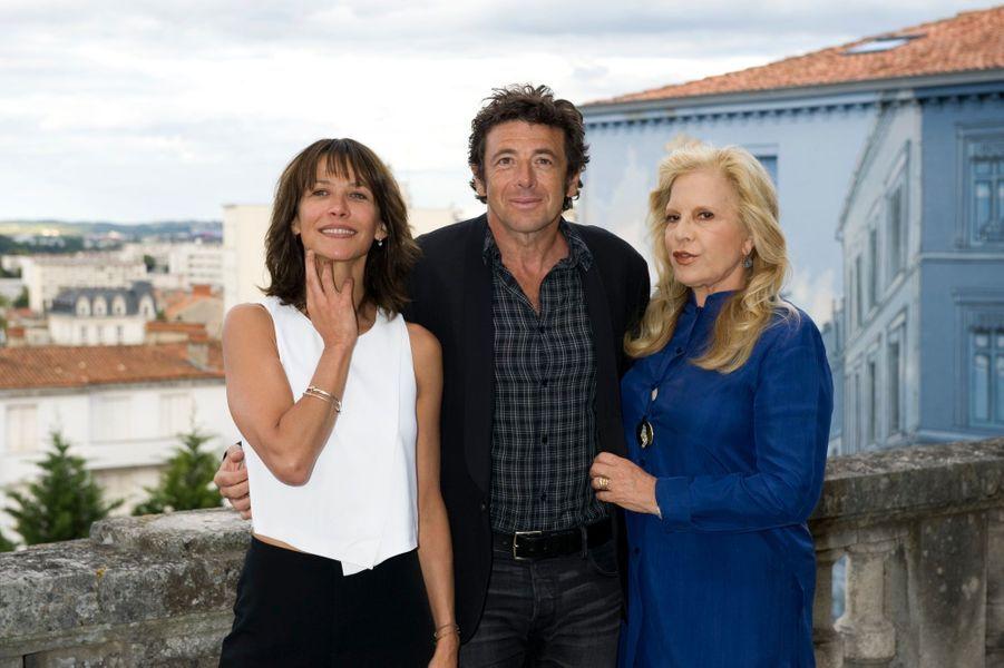 Sophie Marceau, Patrick Bruel et Sylvie Vartan