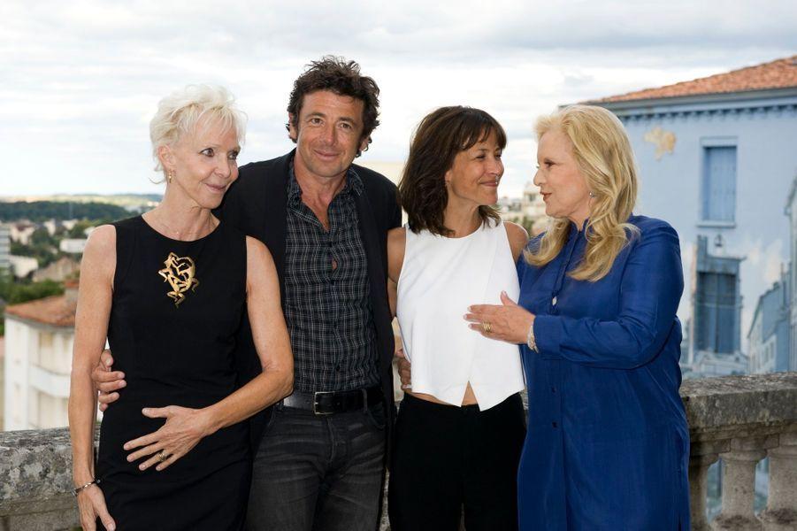 Tonie Marshall, Sophie Marceau, Patrick Bruel et Sylvie Vartan